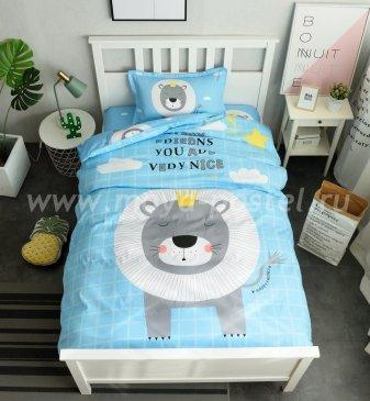 Комплект постельного белья Сатин Детский CD010 в интернет-магазине Моя постель