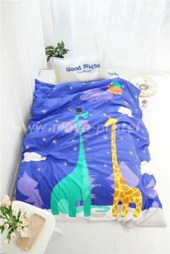 Комплект постельного белья Сатин Детский CD018 в интернет-магазине Моя постель