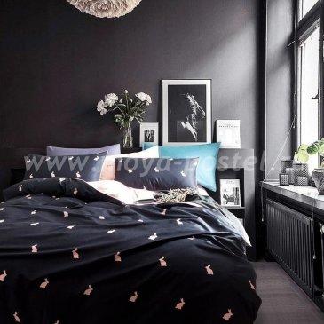 Комплект постельного белья Сатин Премиум на резинке CPAR006 в интернет-магазине Моя постель