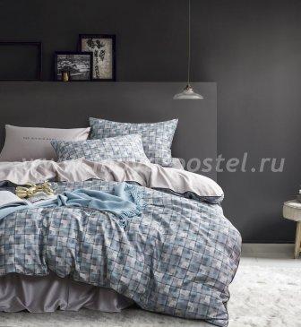 Комплект постельного белья Сатин Премиум на резинке CPAR017, евро 160х200 в интернет-магазине Моя постель