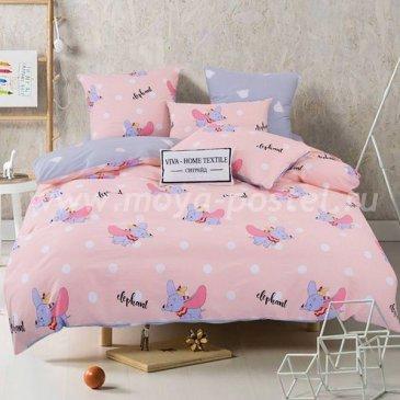 Комплект постельного белья Люкс-Сатин на резинке AR088 (евро 140х200) в интернет-магазине Моя постель