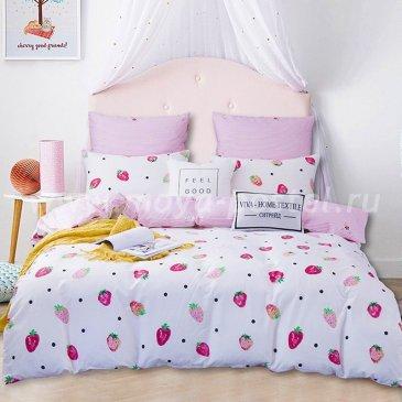 Комплект постельного белья Делюкс Сатин на резинке LR167 в интернет-магазине Моя постель