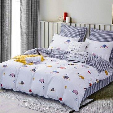 Комплект постельного белья Делюкс Сатин на резинке LR185 в интернет-магазине Моя постель