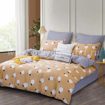 Комплект постельного белья Делюкс Сатин на резинке LR187 в интернет-магазине Моя постель