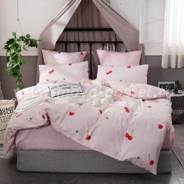 Комплект постельного белья Сатин Элитный на резинке CPLR002, двуспальный (160х200) в интернет-магазине Моя постель