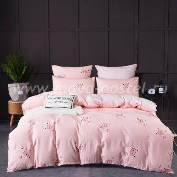 Комплект постельного белья Сатин Элитный на резинке CPLR015 (евро 180х200) в интернет-магазине Моя постель