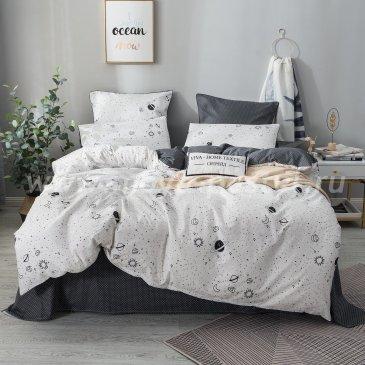 Комплект постельного белья Сатин Элитный на резинке CPLR023 в интернет-магазине Моя постель