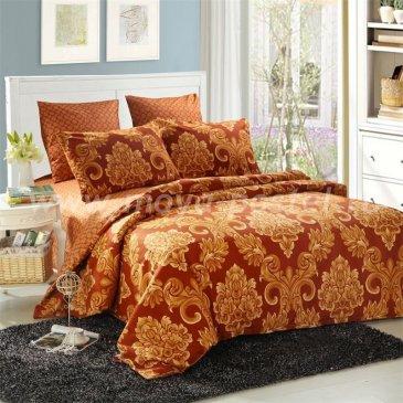 Комплект постельного белья Сатин подарочный на резинке ACR033 в интернет-магазине Моя постель