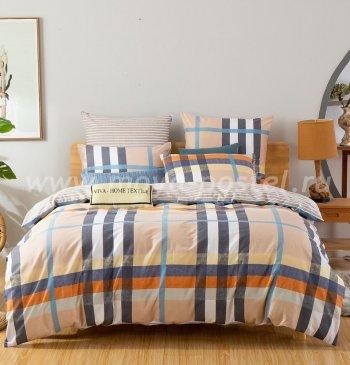 Комплект постельного белья Делюкс Сатин на резинке LR192 в интернет-магазине Моя постель