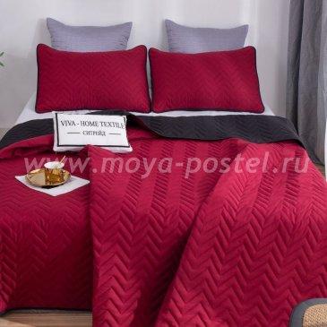 Покрывало однотонное двустороннее и две наволочки ODP005 - интернет-магазин Моя постель