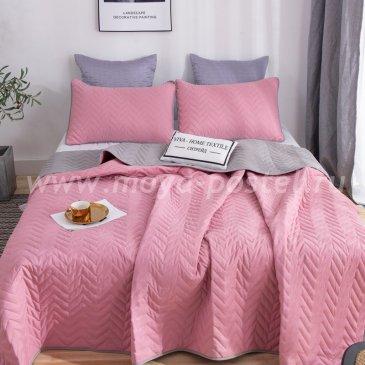 Покрывало однотонное двустороннее и две наволочки ODP008 - интернет-магазин Моя постель
