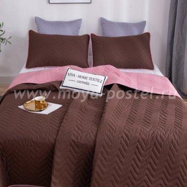 Покрывало однотонное двустороннее и две наволочки ODP009 - интернет-магазин Моя постель