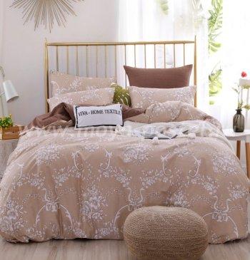 Комплект постельного белья Люкс-Сатин на резинке AR102, евро 160х200 в интернет-магазине Моя постель
