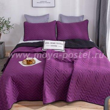 Покрывало однотонное двустороннее и две наволочки ODP007 - интернет-магазин Моя постель