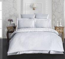 """Постельное белье бамбук """"KARNA"""" PERLA (Eвро) 50x70*2 70x70*2 (стоне) в интернет-магазине Моя постель"""