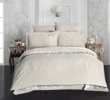 """Постельное белье бамбук """"KARNA"""" PERLA (Eвро) 50x70*2 70x70*2 (бежевый) в интернет-магазине Моя постель"""