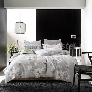 Комплект постельного белья Сатин вышивка на резинке CNR046 в интернет-магазине Моя постель