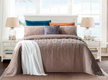Покрывало Tango Emilia EM1822-10 1,5-спальное, коричневое - интернет-магазин Моя постель