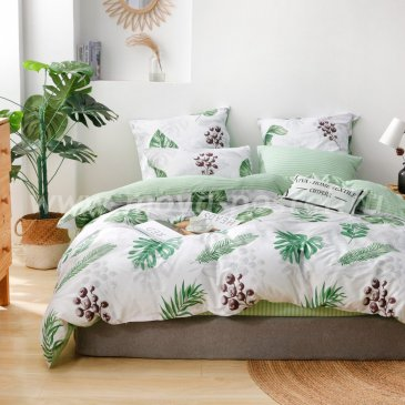 Комплект постельного белья Делюкс Сатин L217 в интернет-магазине Моя постель