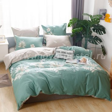 Комплект постельного белья Делюкс Сатин на резинке LR207 в интернет-магазине Моя постель
