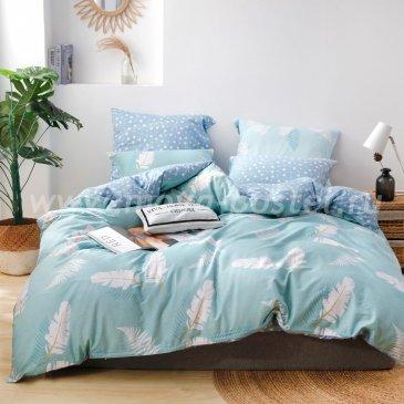 Комплект постельного белья Делюкс Сатин на резинке LR219 в интернет-магазине Моя постель