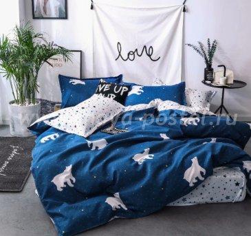 Постельное белье Dream Fly Евро DF03-51 2 наволочки Микросатин в интернет-магазине Моя постель