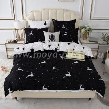 Постельное белье Модное на резинке CLR074, евро 140х200 в интернет-магазине Моя постель
