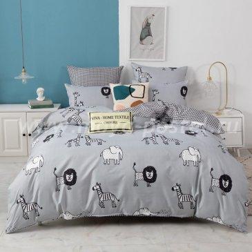 Постельное белье Модное на резинке CLR076 в интернет-магазине Моя постель