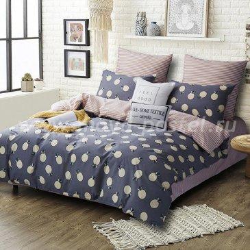 Комплект постельного белья Делюкс Сатин на резинке LR184 в интернет-магазине Моя постель