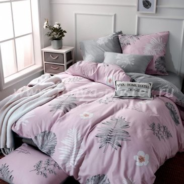 Комплект постельного белья Делюкс Сатин на резинке LR227 в интернет-магазине Моя постель