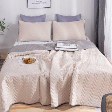 Покрывало однотонное двустороннее и две наволочки ODP002 - интернет-магазин Моя постель