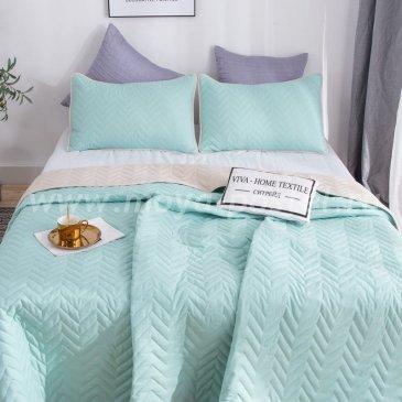 Покрывало однотонное двустороннее и две наволочки ODP004 - интернет-магазин Моя постель