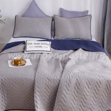 Покрывало однотонное двустороннее и две наволочки ODP006 - интернет-магазин Моя постель