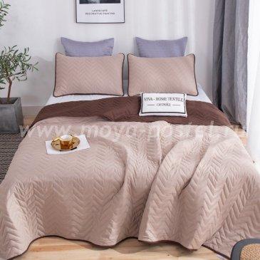 Покрывало однотонное двустороннее и две наволочки ODP010 - интернет-магазин Моя постель