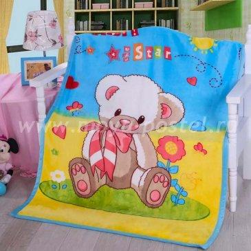 Плед детский фланелевый 100x140 Tango 1014-20, ясли в каталоге интернет-магазина Моя постель