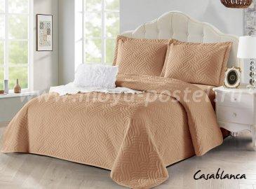 Покрывало Танго Casablanca CAS2426-7, евро, светло-коричневое - интернет-магазин Моя постель
