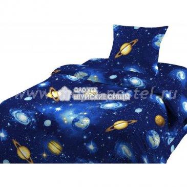 Шуйская бязь 93201 КОСМОС   (1,5сп) в интернет-магазине Моя постель