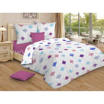 Сатин АМЕТИСТ (розовый)   (2,0сп макси) в интернет-магазине Моя постель