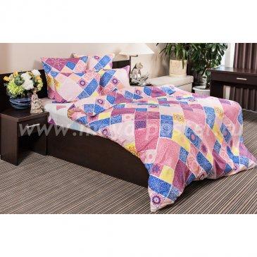 Сатин ШИРАЗ (розовый)   (2,0сп макси) в интернет-магазине Моя постель