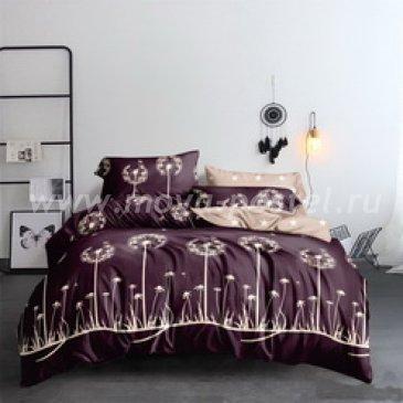 Постельное белье на резинке Поплин ОДУВАНЧИКИ (Семейный) в интернет-магазине Моя постель