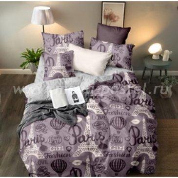 Постельное белье на резинке Поплин ПАРИЖ (Семейный) в интернет-магазине Моя постель