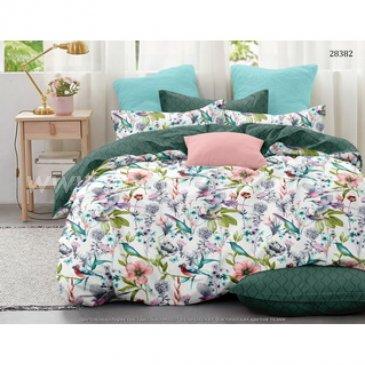 Постельное белье на резинке Поплин ВЕСНА (Евро) в интернет-магазине Моя постель