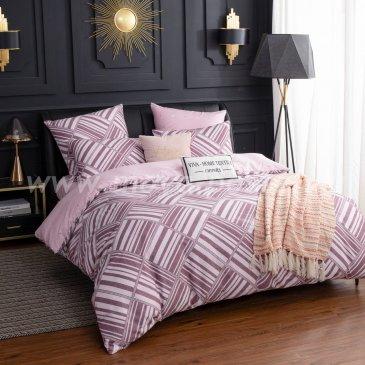 Комплект постельного белья Люкс-Сатин A112 евро в интернет-магазине Моя постель