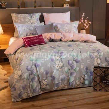 Комплект постельного белья Делюкс Сатин на резинке LR244, двуспальный 180х200 в интернет-магазине Моя постель