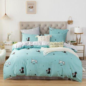 Комплект постельного белья Люкс-Сатин A122, двуспальный 50х70 в интернет-магазине Моя постель