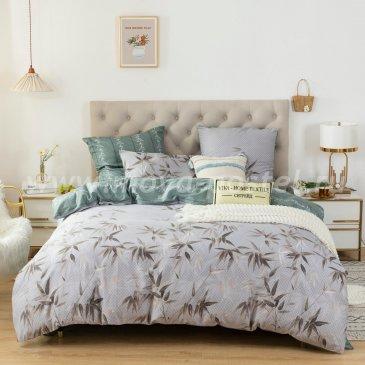 Комплект постельного белья Люкс-Сатин на резинке AR109, двуспальный 180х200 в интернет-магазине Моя постель