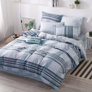 Комплект постельного белья Делюкс Сатин на резинке LR239 двуспальный 140х200, наволочки 50х70 в интернет-магазине Моя постель