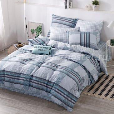 Комплект постельного белья Делюкс Сатин на резинке LR239, семейный 140х200 в интернет-магазине Моя постель