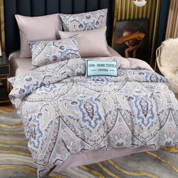Комплект постельного белья Делюкс Сатин на резинке LR246, двуспальный 180х200, наволочки 50х70 в интернет-магазине Моя постель
