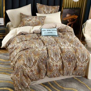 Комплект постельного белья Делюкс Сатин на резинке LR251, двуспальный 140х200, наволочки 50х70 в интернет-магазине Моя постель